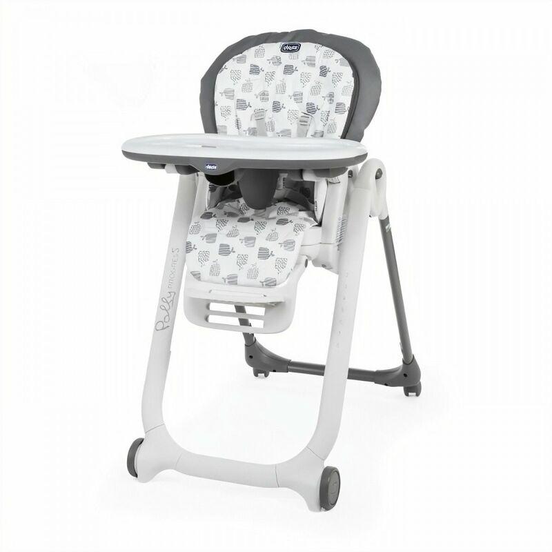 Chicco Chaise haute Polly Progres5 4r Grey