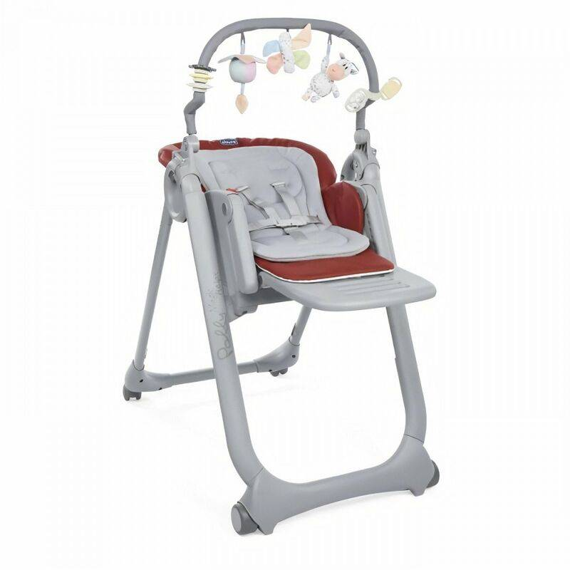 Chicco Chaise Haute Polly Magic Relax Red Passion - Chicco