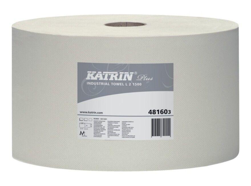 FP - Papier de nettoyage, blanc, deux plis, 1500 feuilles (Par 2)
