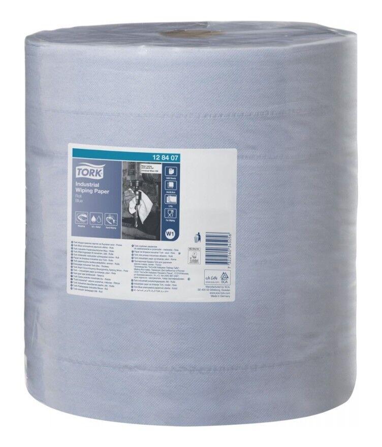 TORK Papier d'essuyage 330 bleu 3 plis .37x34cm 1000 feuilles