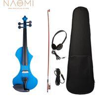 Naomi V1 Series 4/4 Violon electrique Complet Sculpte a La Main Sculpteur Sculpteur Solide Violin Corps De Violon Avec Un Boitier Audio Octogonal <br /><b>225.31 EUR</b> ManoMano