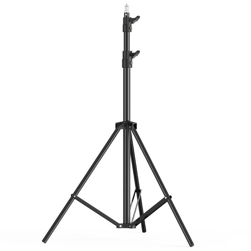 ANDOER-2 Anoer Portable Portable Emploi De Tet De Tripod De Tripod De Tripod De Tripod Max. Hauteur 200Cm / 78.74In Avec Une Vis De 1/4 Pouce Pour Photo