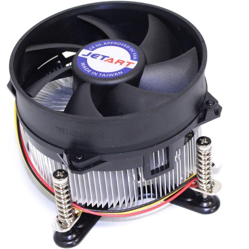 BEMATIK Ventilateur CPU pour Intel LGA775 Pentium 4 3.4Ghz Jetart - Bematik