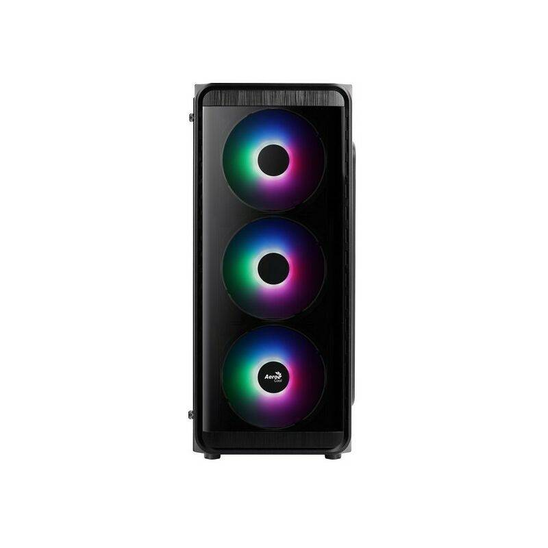AeroCool Boîtier Demi Tour Micro ATX / Mini ITX / ATX SI5200 Frost Ø 12 cm RGB - Aerocool