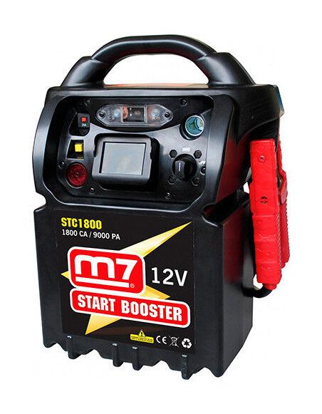 M7 - Booster de démarrage à super-condensateur 12V 1800 CA - 9000 PA - STC1800