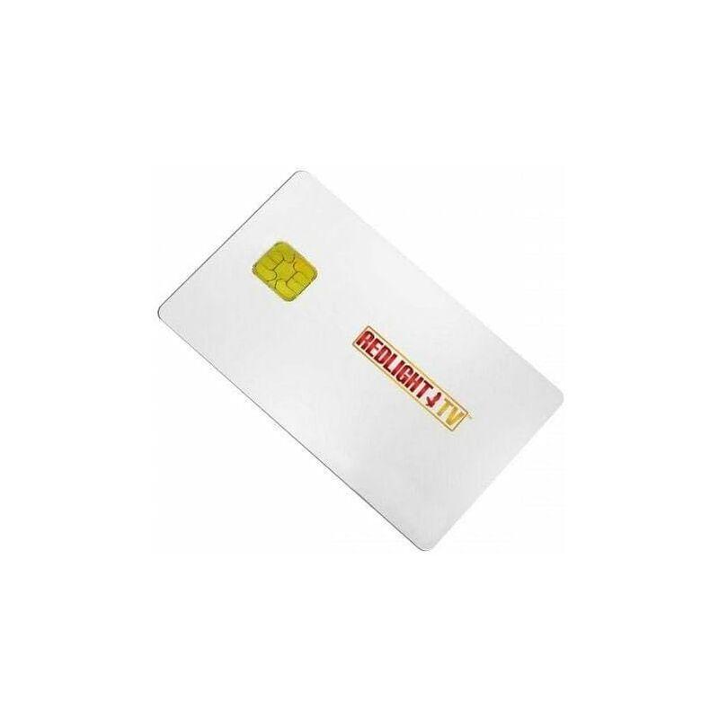 HDME Carte Viaccess Redlight Mega Elite Royale 13 Chaines - 12 Mois