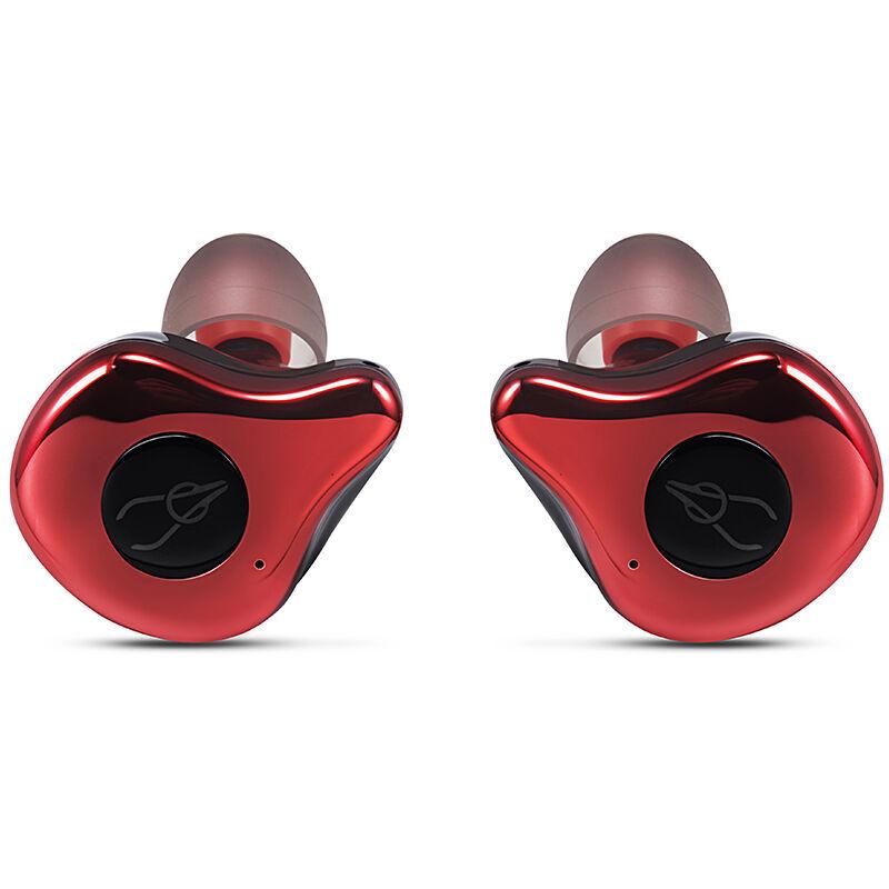 SABBAT Tws Mini E12 Binaural Sans Fil Sport Ecouteurs Bt5.0 Ipx5 Etanche In-Ear Mains-Libres Stereo Ecouteurs Bruit Casque Avec Micro Microphone Cancelling