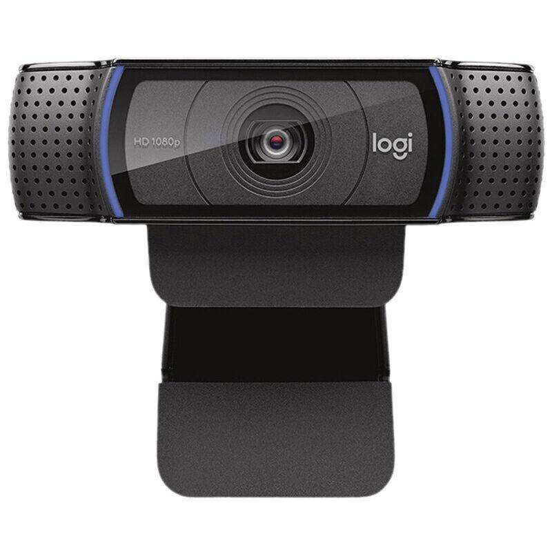 Logitech Hd Pro Webcam C920 1080P 30Fps Appareil Photo Grand Ecran Appel Video Et Enregistrement Ordinateur De Bureau Ou Ordinateur Portable Web Cam Objectif