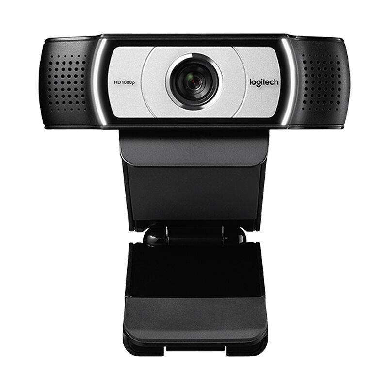 Logitech Webcam C930C 1080P H.264 Appel Video Ordinateur Camera D'Affaires A Distance En Ligne Enseignement Web Cam Clipser Camera Avec Micro Pour Ordinateur