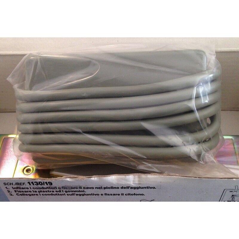 URMET 1130/12 - Rosace pour emploi de table du poste d'appartement Mod.1130 - Urmet