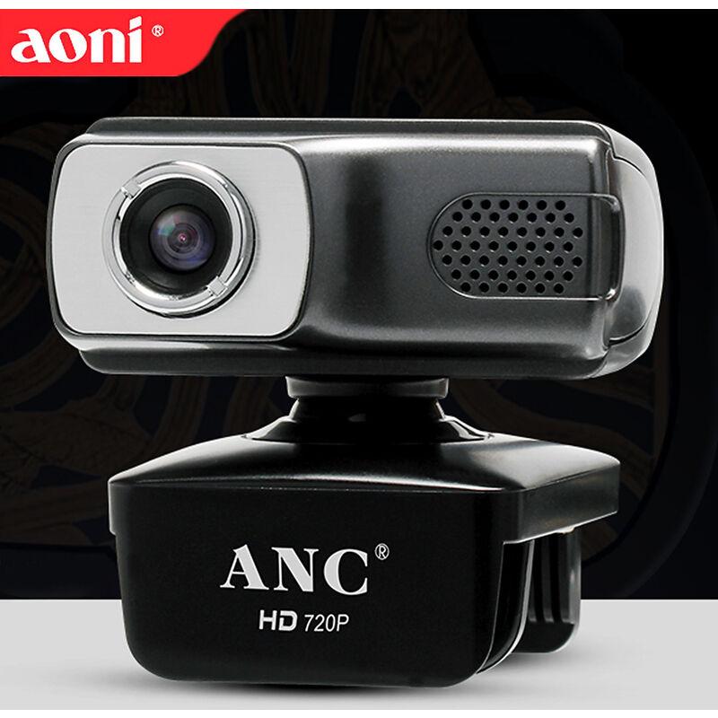 AONI Usb Webcam Appel Video Ordinateur Portable 720P Web Cam Videoconference A Distance L'Enseignement Etude Webcast Camera Avec Micro Camera Moniteur,
