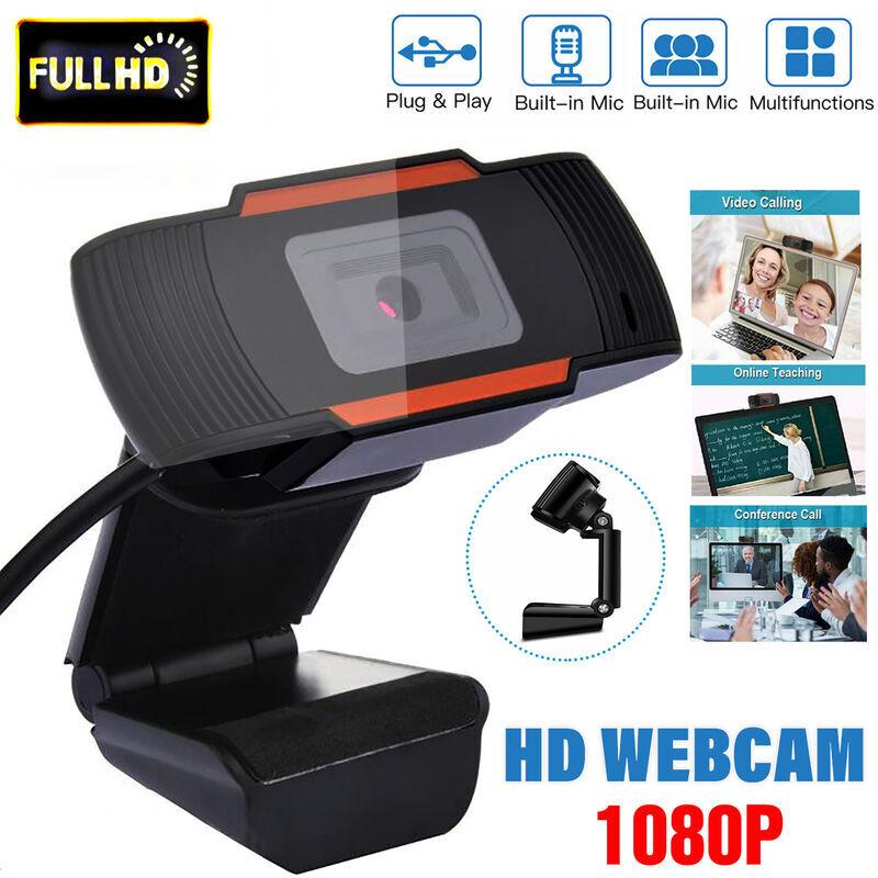 COXOLO Webcam Stand Web USB 2.0 Caméra Cam avec Microphone sur Ordinateur portable1080P