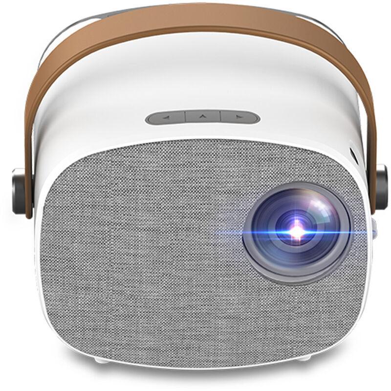 ASUPERMALL Yg230 Mini Projecteur Portable Full Hd 1080P Video Beamer Home Cinema Multi-Ecran Media Player Support Hd Usb Micro Usb Av Tf Carte Entree Lecteur