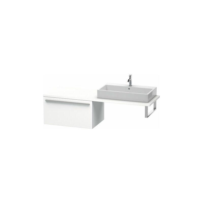 Duravit X-Large meuble bas pour console, 1 tiroir, 800mm, Couleur (avant/corps): placage en chêne véritable brossé foncé - XL543407272