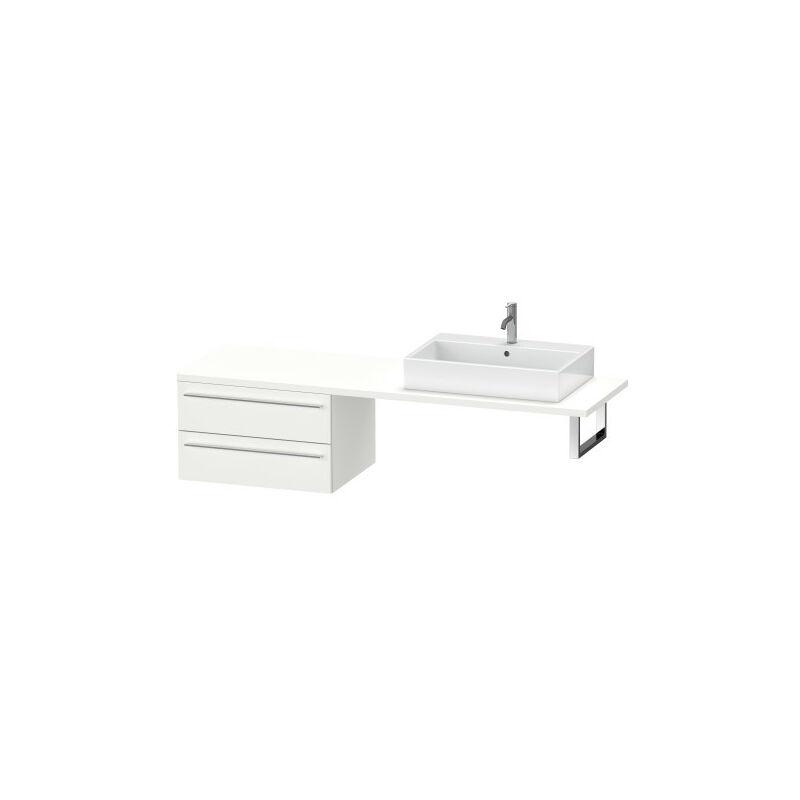 DURAVIT AG Duravit X-Large meuble bas pour console, 2 tiroirs, 700mm, Couleur (avant/corps): Chêne brossé Placage bois véritable - XL545901212