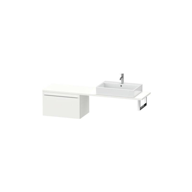 DURAVIT AG Duravit X-Large meuble bas pour console compacte, 1 tiroir, 700mm, Couleur (avant/corps): Chêne brossé Placage bois véritable - XL544301212