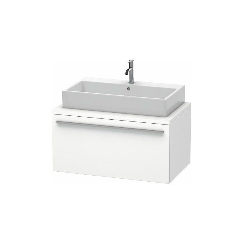 DURAVIT X-Large meuble-lavabo pour console, 1 tiroir, 900mm, Couleur (avant/corps): Noyer brossé Placage bois véritable - XL541306969 - Duravit