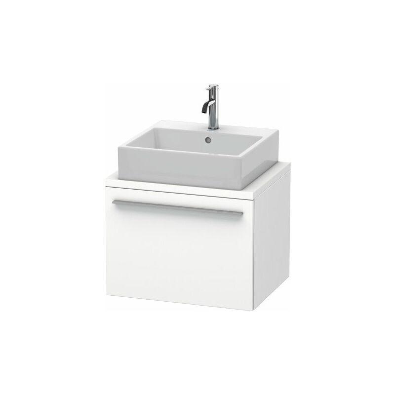DURAVIT X-Large meuble-lavabo pour console compacte, 1 tiroir, 600mm, Couleur (avant/corps): Chêne brossé Placage bois véritable - XL540001212 - Duravit