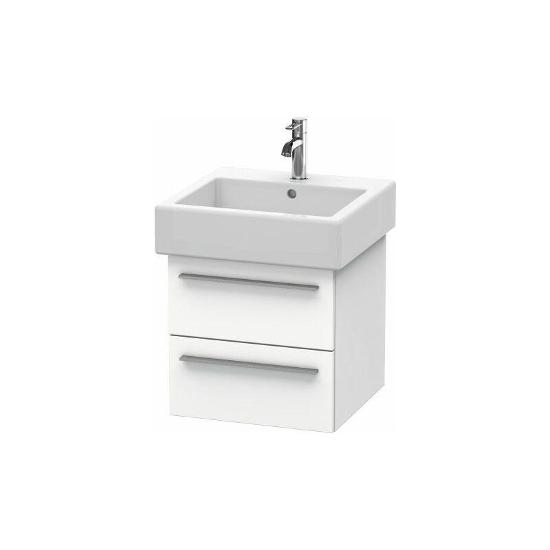 DURAVIT X-Large Meuble sous-lavabo suspendu 6343, 2 tiroirs, 450mm pour Vero, Couleur (avant/corps): placage en chêne véritable brossé foncé - XL634307272