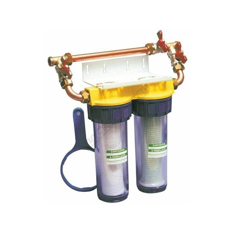 Polar Filtre Duo By Pass, anti-corrosion et anti-calcaire