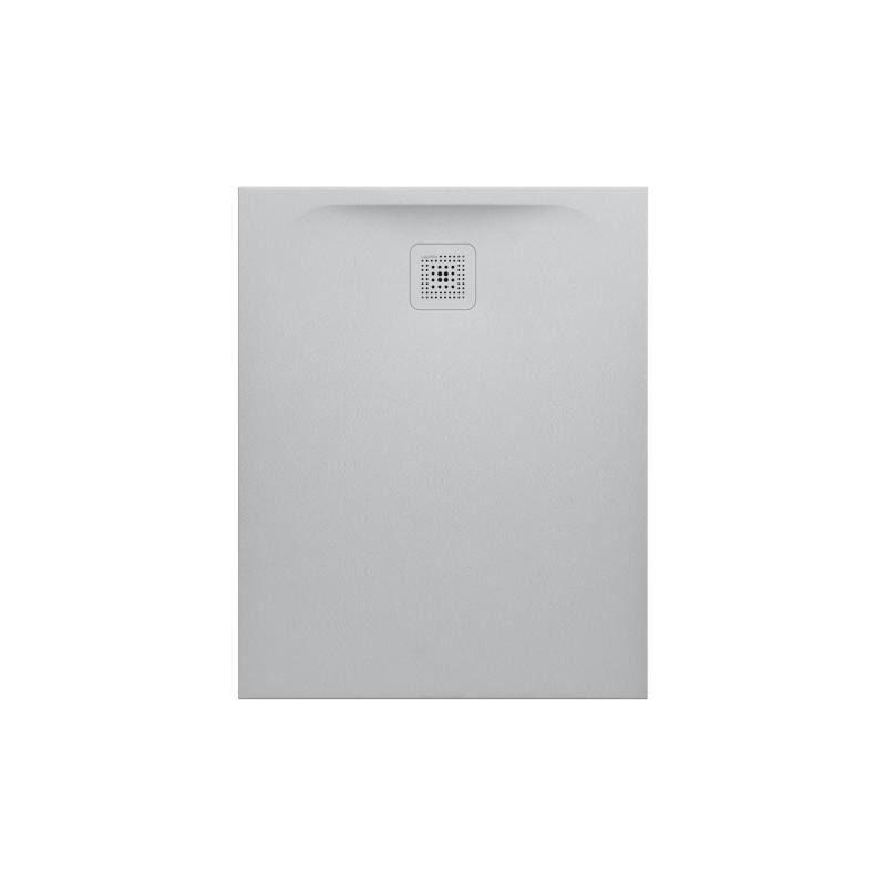 LAUFEN Pro Receveur de douche en gel coat Marbond, évacuation sur le côté court 100x90, Gris clair mat (H2109570770001) - Laufen