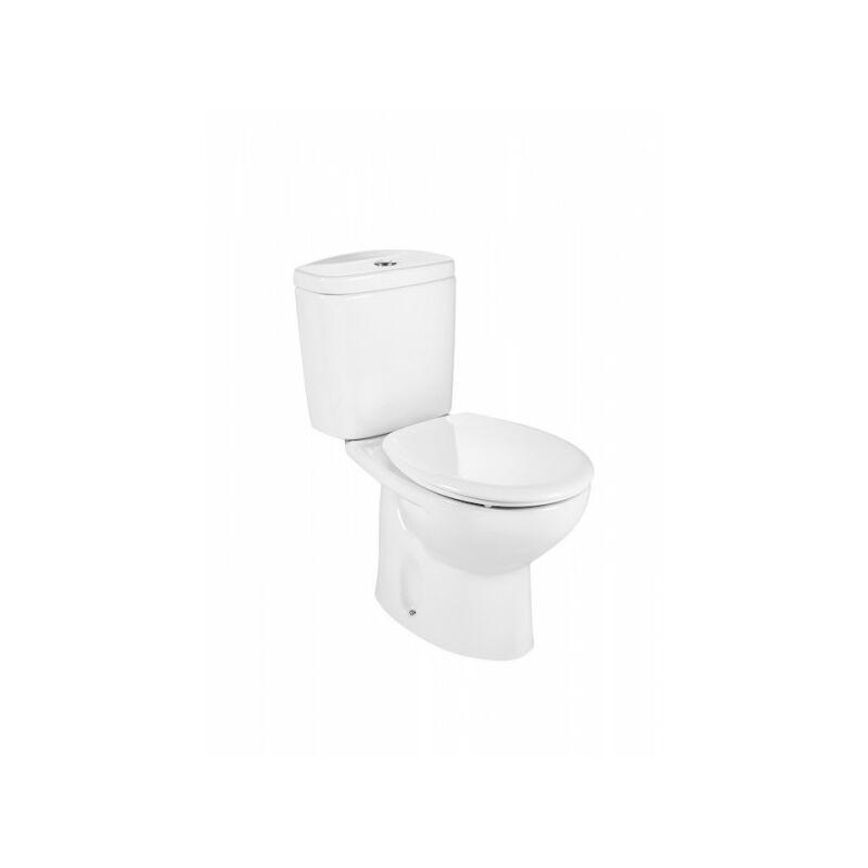 Roca - Pack WC Victoria Blanc avec réservoir complet alimentation latérale A349393000