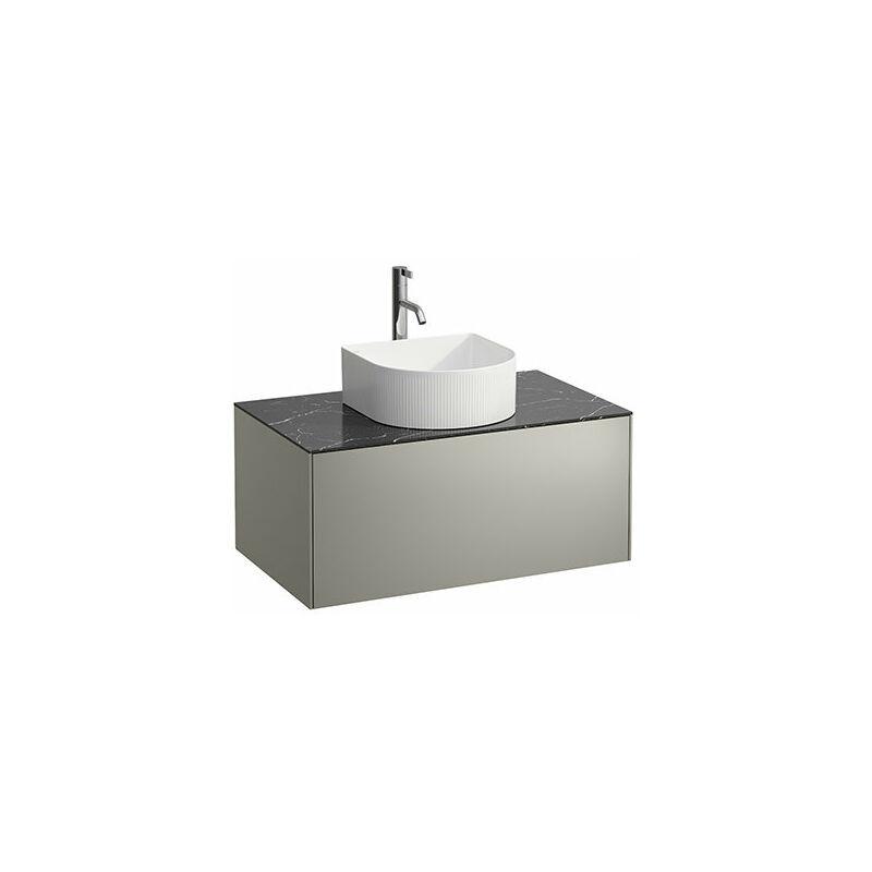 Laufen - Tiroir Sonar en cours d'utilisation, 1 tiroir, adapté aux cuvettes des lavabos 812340, 812341, 812342, 812343, découpe au milieu pour le
