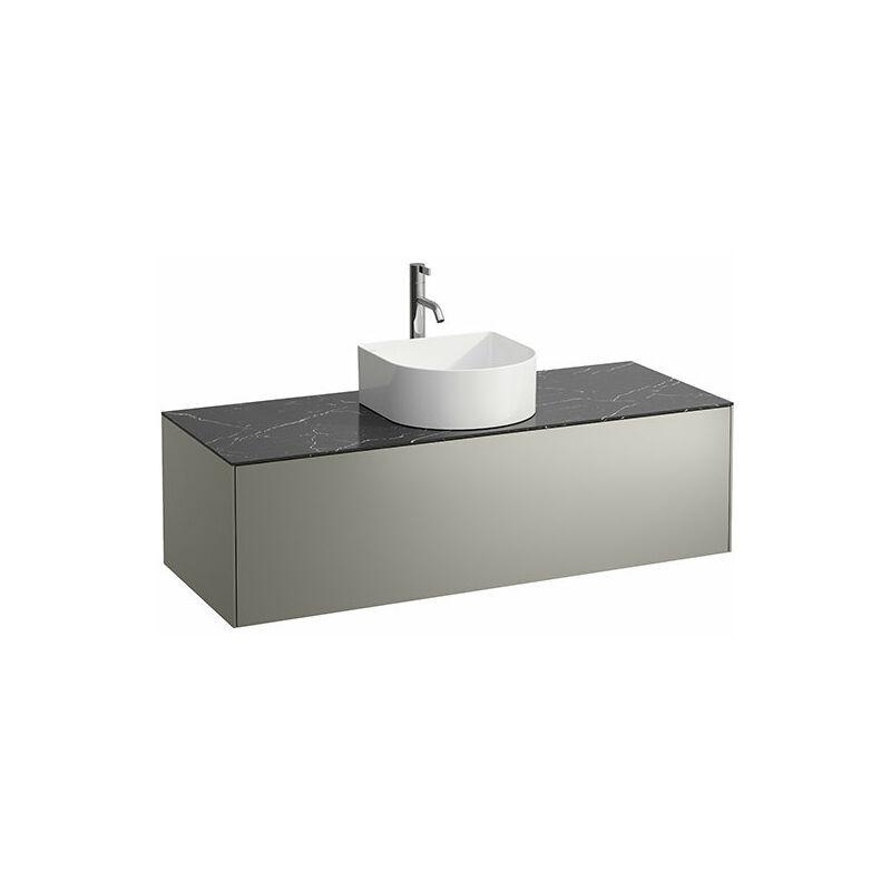 LAUFEN Tiroir Sonar en cours d'utilisation, 1 tiroir, adapté aux cuvettes des lavabos 812340, 812341, 812342, 812343, découpe au milieu pour le lavabo et le