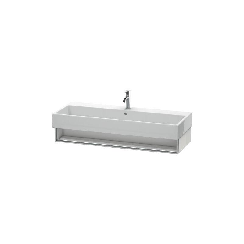 DURAVIT Meuble sous-lavabo Vero Air 118,4 x 43,1 cm, 1 compartiment ouvert, pour Vero Air 235012, Couleur (avant/corps): Noyer brossé Placage bois véritable