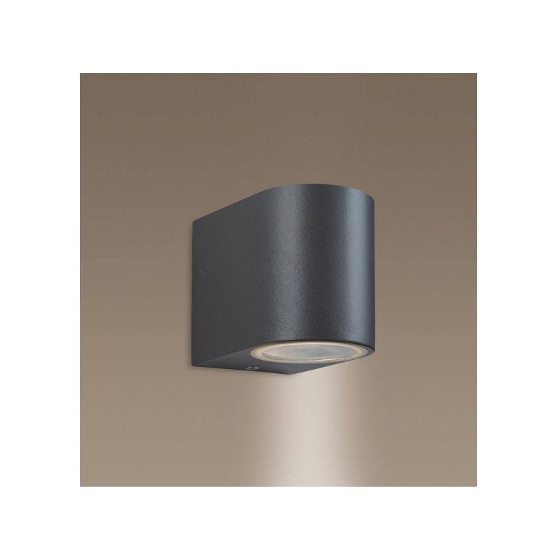 FIRSTLIGHT Applique 1 ampoule Scenic, finition métallique