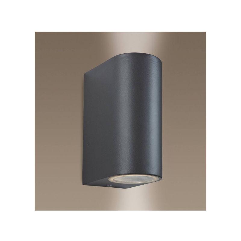 FIRSTLIGHT Applique 2 ampoules Scenic, finition métallique