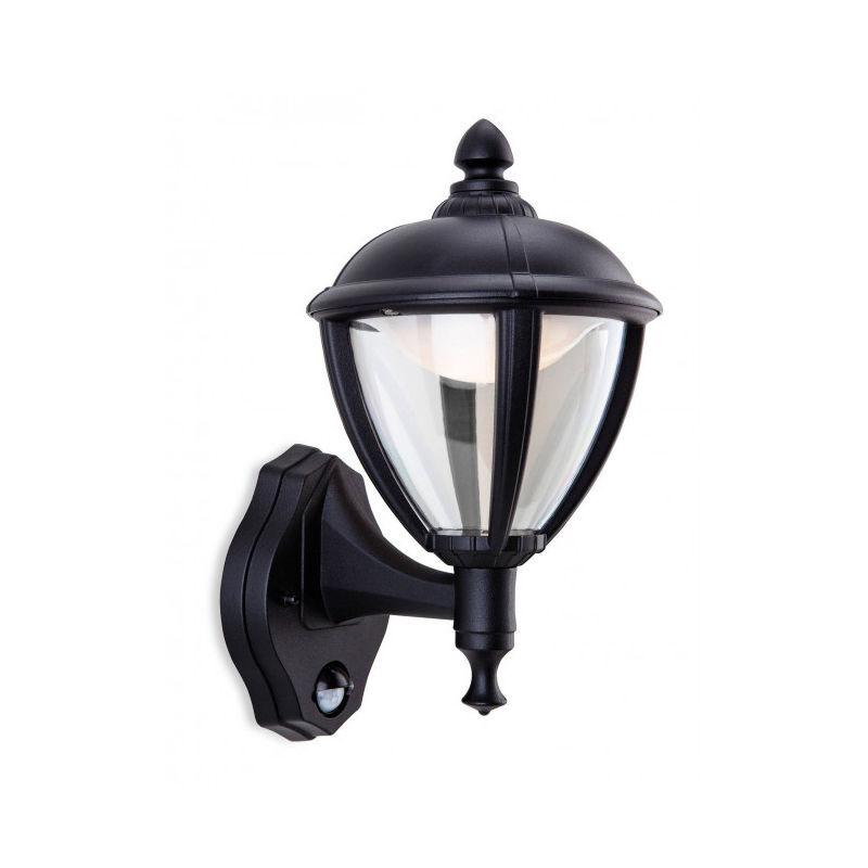 FIRSTLIGHT Applique Unite LED avec détecteur, noir