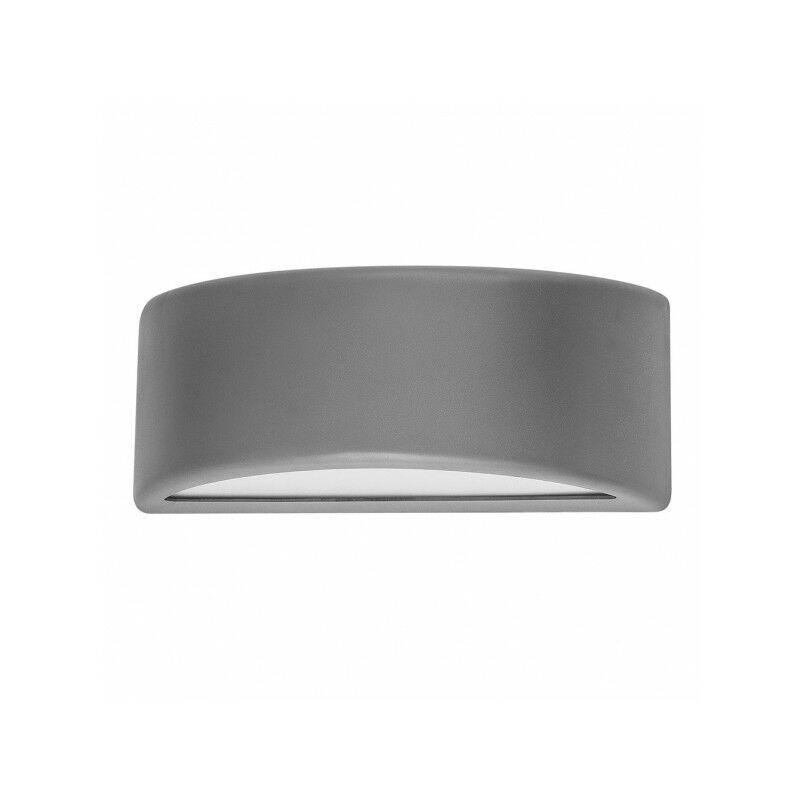 FABRILAMP Appliquer le polycarbonate gris Kefir extérieur - Fabrilamp
