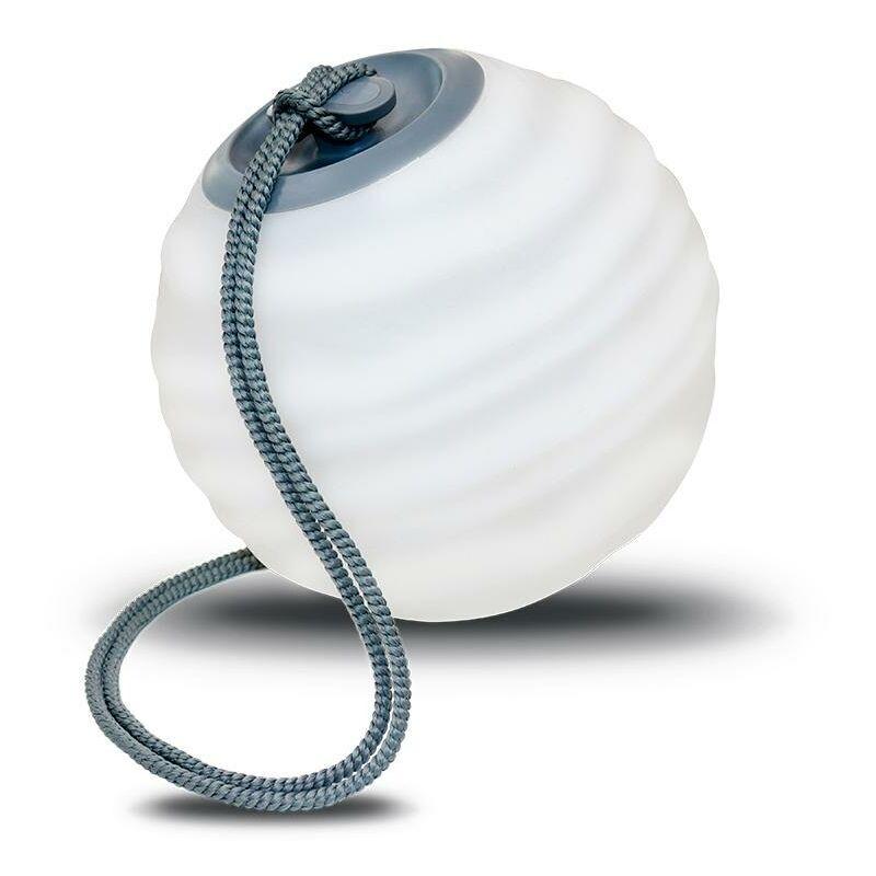 MOOVERE Suspension d'extérieur avec télécommande Batterie rechargeable LED/RGB Space grey color gris spatial - Moovere
