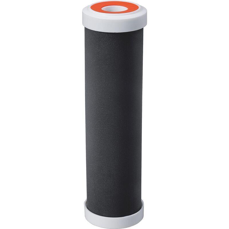 AQUAWATER Cartouche 3 en 1 pour eau de boisson : filtration et anti bactéries et anti odeurs - Taille standard 10'- Durée 12 mois