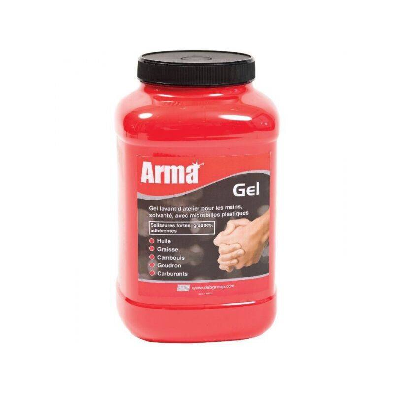 ARMA TOPCAR - Gel lavant d'atelier pour les mains en bidon de 4,5litres - GEL445