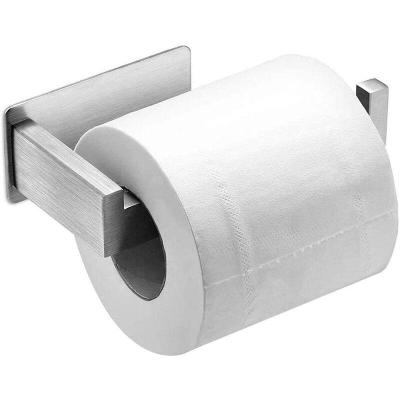 BETTERLIFE BETT Porte Papier Toilette Auto-adhésif, Support Papier Toilette Mural, 304 Acier INOX Porte Rouleau Papier Toilette, Installation avec 3M