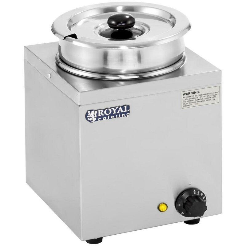 HELLOSHOP26 Distributeur de soupe 1 x 2,75 litres 150 watts