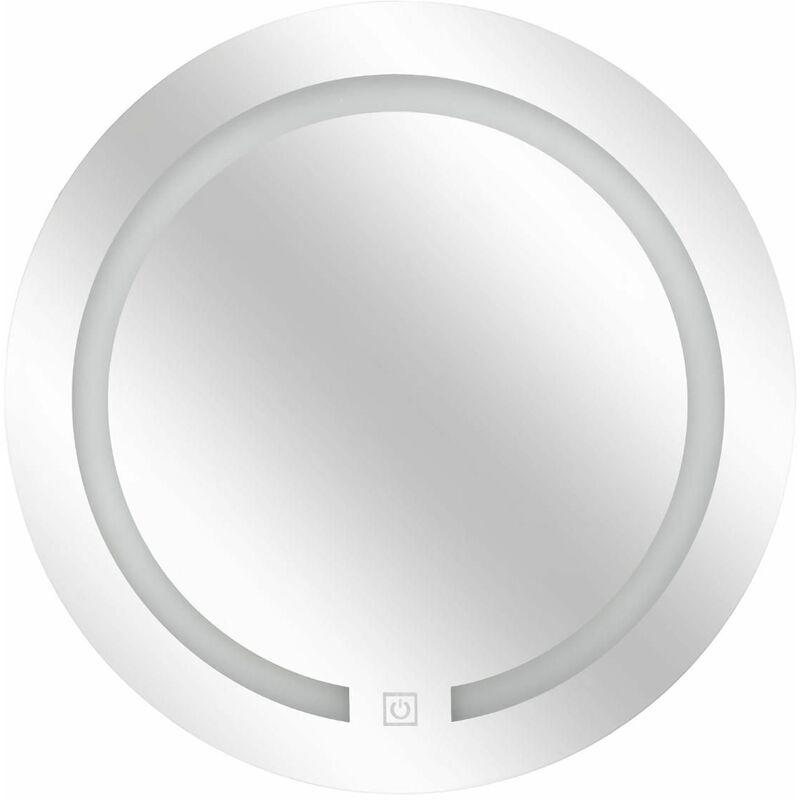 AC-DÉCO Miroir rond avec LED - D 45 cm - Livraison gratuite