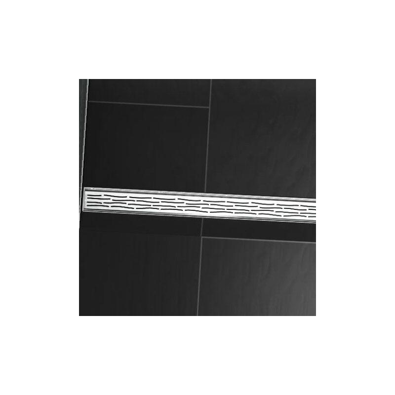 Tece Gmbh - Grille design TECEdrainline 'bio' pour receveurs de douche droits, 6010, 1000mm, Exécution: brossé - 601061