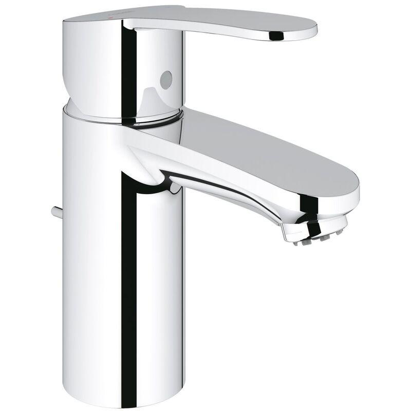 GROHE Mitigeur monocommande de lavabo Cosmopolitan Eurostyle, taille S avec vidage escamotable, pour chauffe-eau ouverts - 33561002 - Grohe