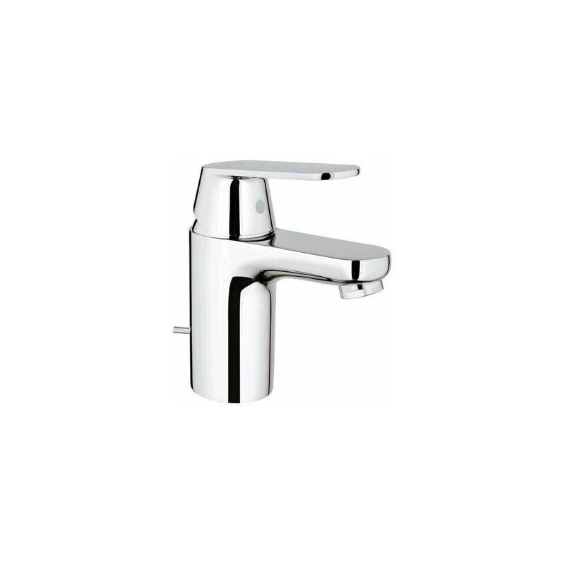GROHE Mitigeur monocommande de lavabo Eurosmart Cosmopolitan, taille S avec vidage escamotable, pour chauffe-eau ouverts - 32955000 - Grohe
