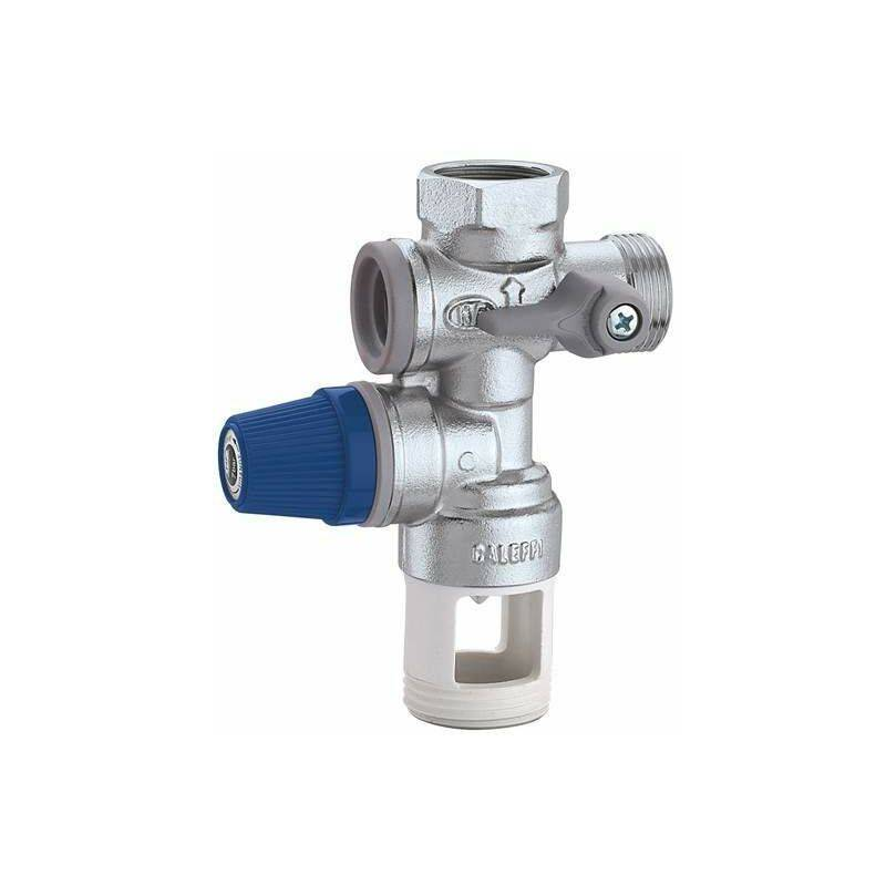 CALEFFI Groupe de sécurité pour chauffe-eau à accumulation Caleffi 526142-526152   3/4'