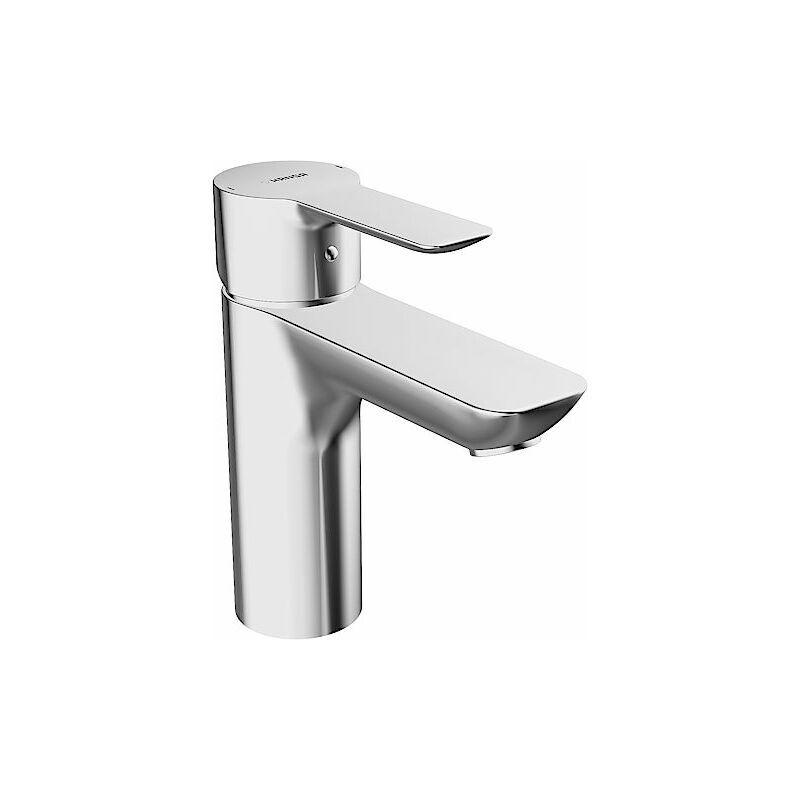 Hansa Hansaligna Mitigeur monocommande de lavabo 0613, raccordement par tubes cuivre, chromé pour chauffe-eau ouverts - 06131103