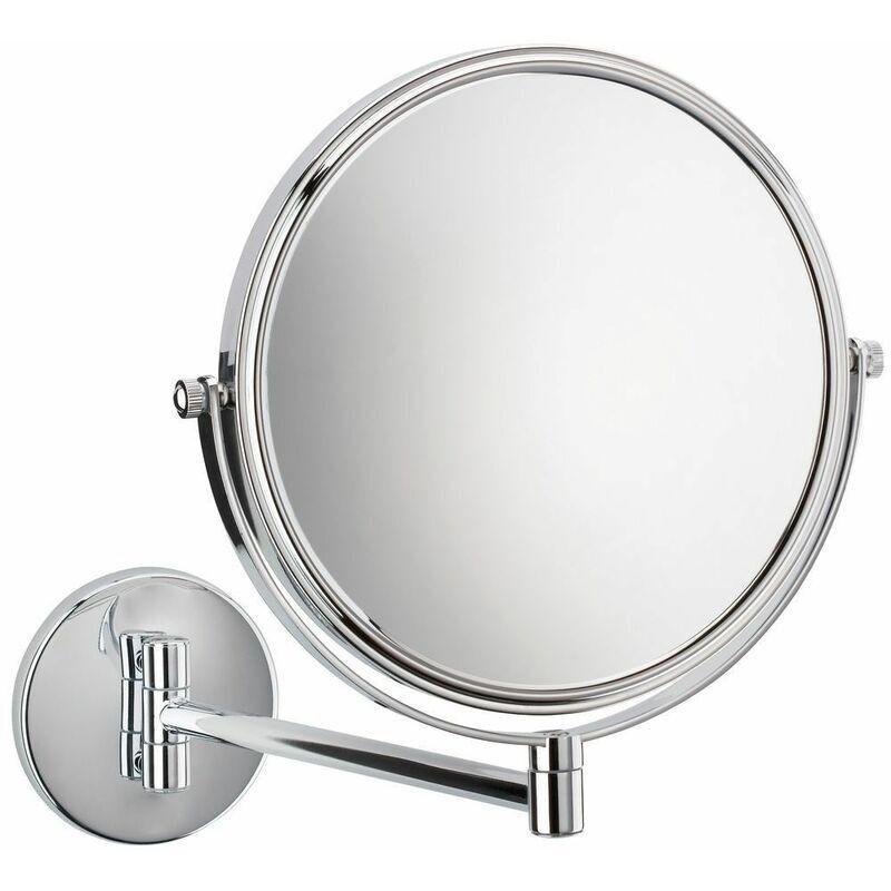 LE SANITAIRE Miroir cosmétique agrandissement 1/5 fois avec bras articulé