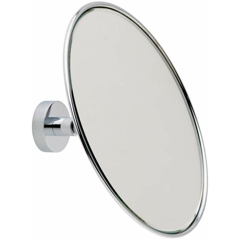 LE SANITAIRE Miroir cosmétique agrandissement 5 fois avec rotule et technique de collage