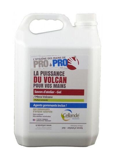 CELLANDE Savon microbille Méca-Volcano - Bidon 5L - 663058CELCE - Cellande