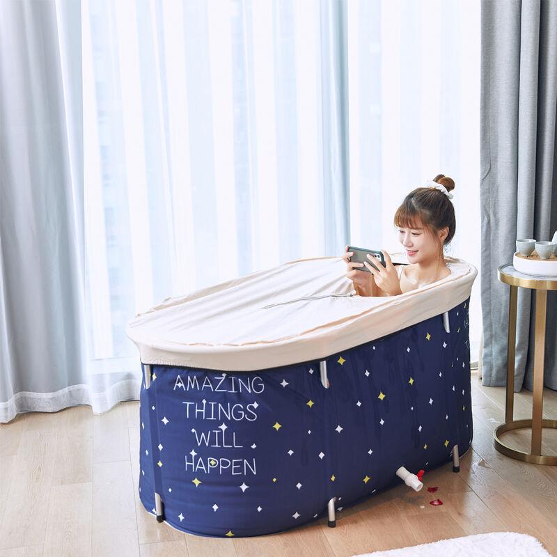 TIGA Seau de bain pour sauna domestique Baignoire SPA A