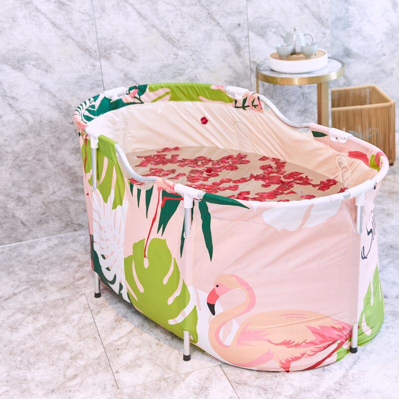 TIGA Seau de bain pour sauna domestique Baignoire SPA B