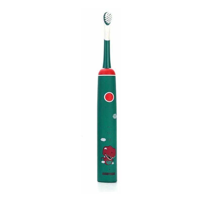 TRIOMPHE Brosse à dents électrique pour enfants (brosse à dents électrique pour dinosaures) - Triomphe